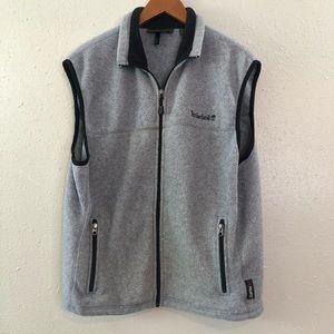 Timberland Fleece Full Zip Vest Polartec Medium